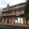 Scaffolding to repair gutters & repaint windows