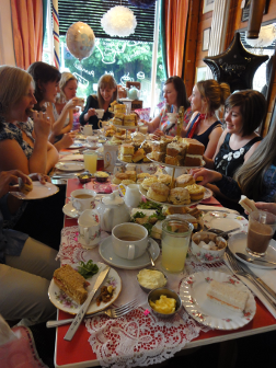 Afternoon Tea birthday party